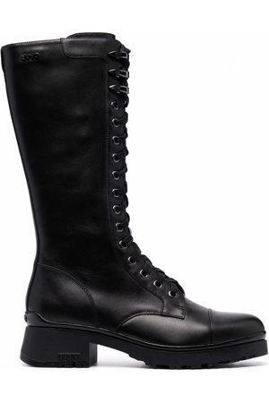 Liu Jo Chunky lace-up boots