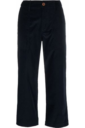 JEJIA Navy cropped trousers