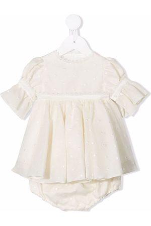 LA STUPENDERIA Baby Casual Dresses - Polka-dot embroidered dress