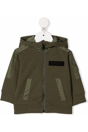 Dondup Logo-patch hooded jacket