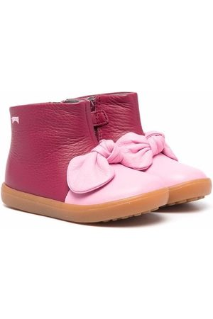 Camper Baby Wellingtons - Pursuit bow-detail boots