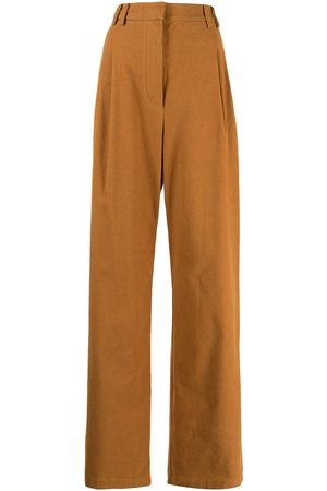 PROENZA SCHOULER WHITE LABEL High-waisted wide-leg trousers