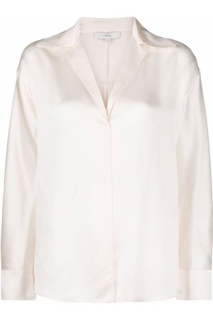 Vince Women Jumpers - Pullover silk blouse