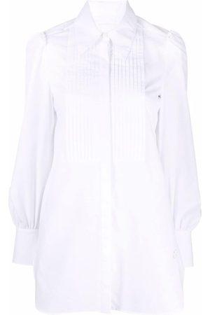 Erdem Women Tops - Pleated-bib long shirt