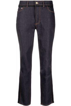 Erdem Slim-fit cropped jeans
