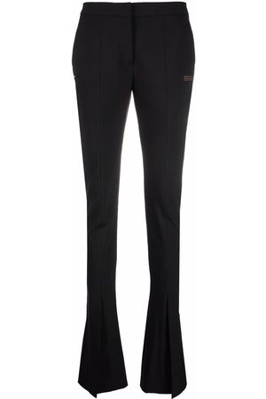 OFF-WHITE LIGHT WOOL TAILORED PANT NO COLOR
