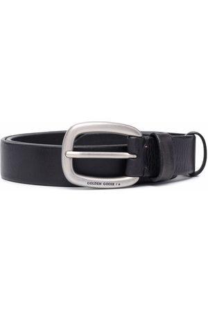 Golden Goose Logo buckle belt