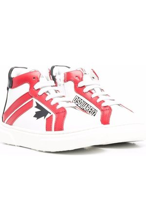 Dsquared2 Maple-leaf detail sneakers