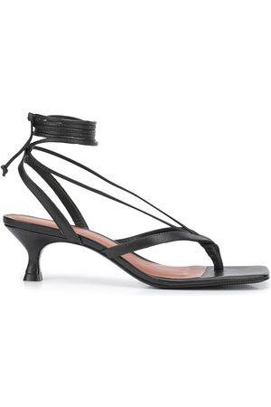 Reformation Selene lace up sandals