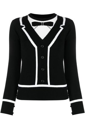 Thom Browne Tuxedo-effect jumper