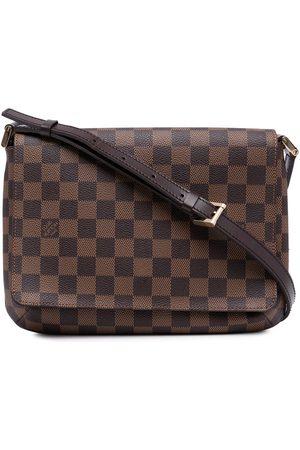 LOUIS VUITTON Women Shoulder Bags - 2002 pre-owned Damier Ebène Musette Tango shoulder bag
