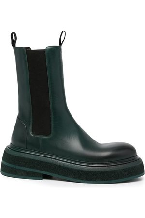 MARSÈLL Ankle-length leather boots