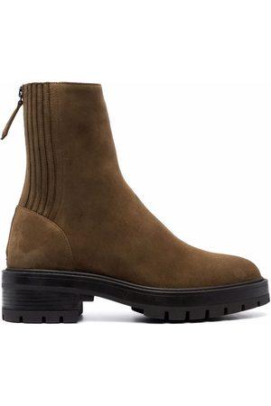 Aquazzura Saint Honoré combat boots