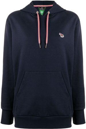 Paul Smith Women Hoodies - Zebra-motif cotton hoodie