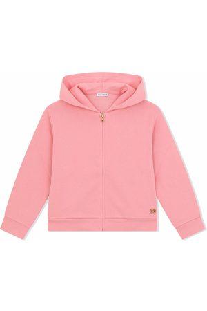 Dolce & Gabbana Zip-front cotton hoodie