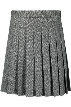 Dsquared2 Women Pleated Skirts - Two-tone pleated skirt