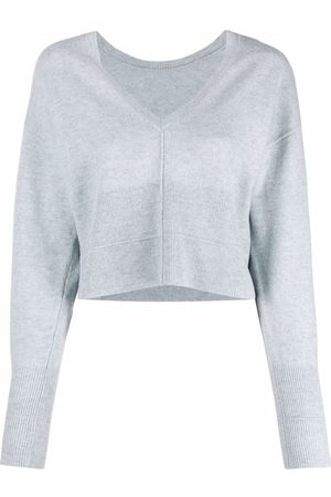 REMAIN Cropped fine knit wool jumper