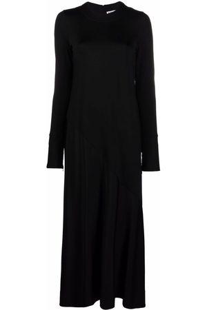 Jil Sander Long-sleeved flared dress