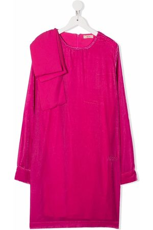 Nº21 TEEN pleated-detail dress