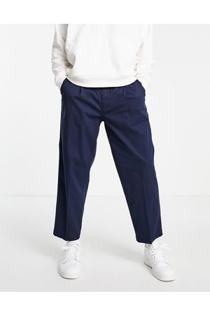 Levi's Levi's loose cropped chinos in navy