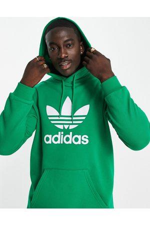 adidas Originals Men Sweatshirts - Adicolor large trefoil hoodie in