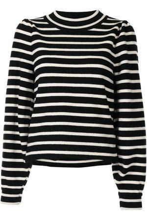 GOEN.J Striped pattern jumper