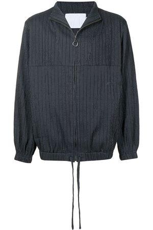 Off-Duty Men Sports Jackets - Textured zipped jacket