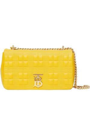 Burberry Lola quilted clutch