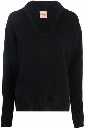NUDE V-neck jumper
