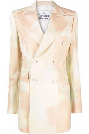 Vivienne Westwood Sky-print double-breasted blazer