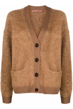 Acne Studios Toffee buttoned cardigan