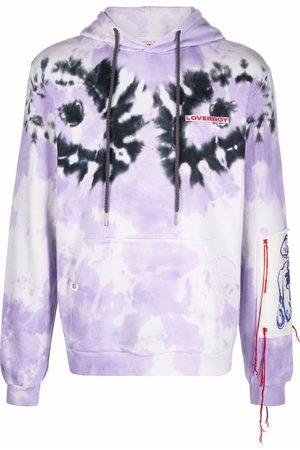 Charles Jeffrey Loverboy Logo-embroidered tie-dye hoodie