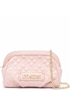 Love Moschino Quilted clutch bag