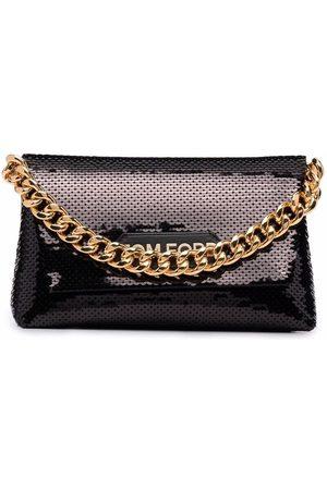Tom Ford Sequin-embellished satin clutch bag