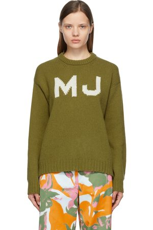 Marc Jacobs Green 'The Big' Sweater