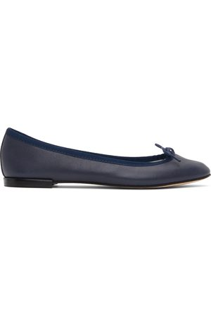 Repetto Blue Cendrillon Ballerina Flats