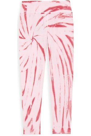 Tiny Whales Little Girl's & Girl's Tie-Dye Leggings