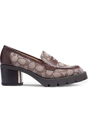 COACH Loafers - Cora Monogram Jacquard Loafers