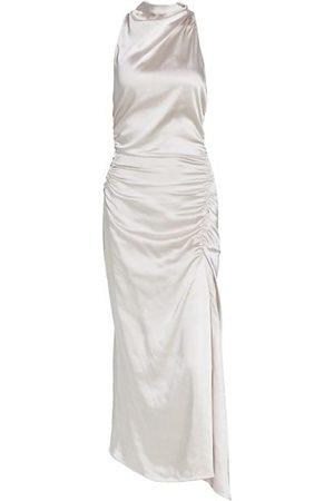 A.L.C. Inez Satin Halter Dress