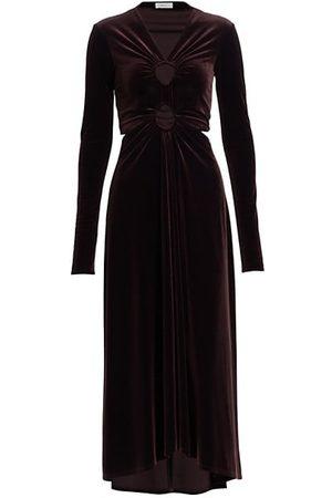 A.L.C. Women Party Dresses - Maeve Velvet Cutout Dress