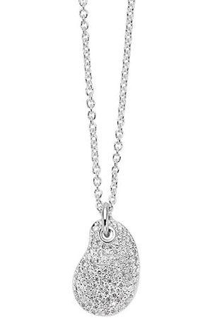 Ippolita Stardust Sterling & Diamond Kidney Bean Pendant Necklace