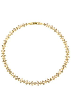 Theia 14K Goldplated & Cubic Zirconia Soteria Eternity Short Necklace