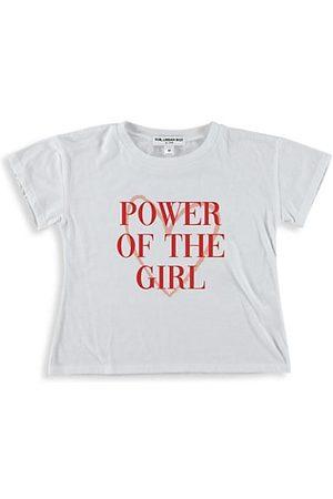 "Suburban Riot Girl's ""Power Of The Girl"" Crop T-Shirt"