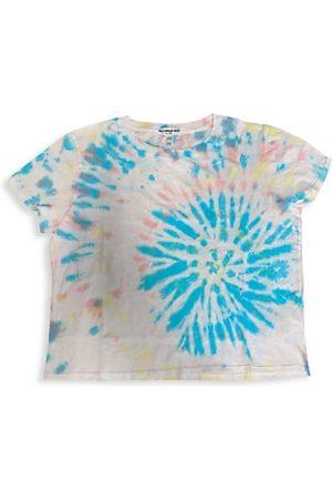 Suburban Riot Girls Short Sleeve - Girl's Tie-Dye Print T-Shirt