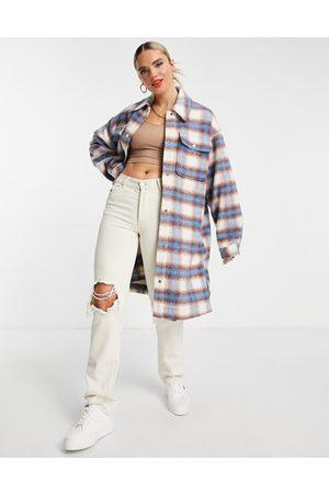 Levi's Women Jackets - Levi's long shacket in plaid-Multi