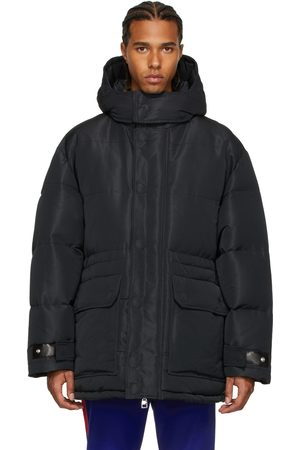 Alexander McQueen Faille Graffiti Puffer Jacket