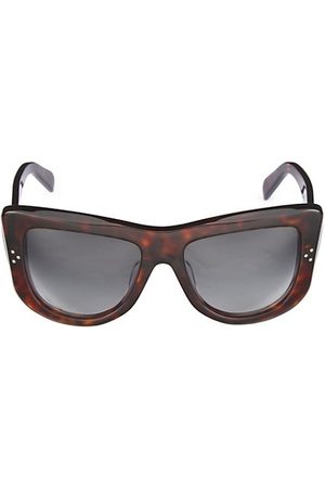 CELINE Sunglasses - 57MM Flat Top Round Sunglasses