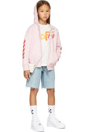Off-White Kids Rounded 'Off' Long Sleeve T-Shirt