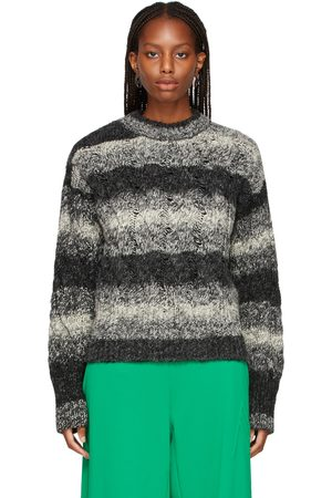 The Attico & Grey Cable Knit Kenna Sweater