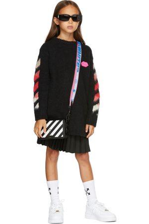 Off-White Kids Brushed Knit Logo Dress